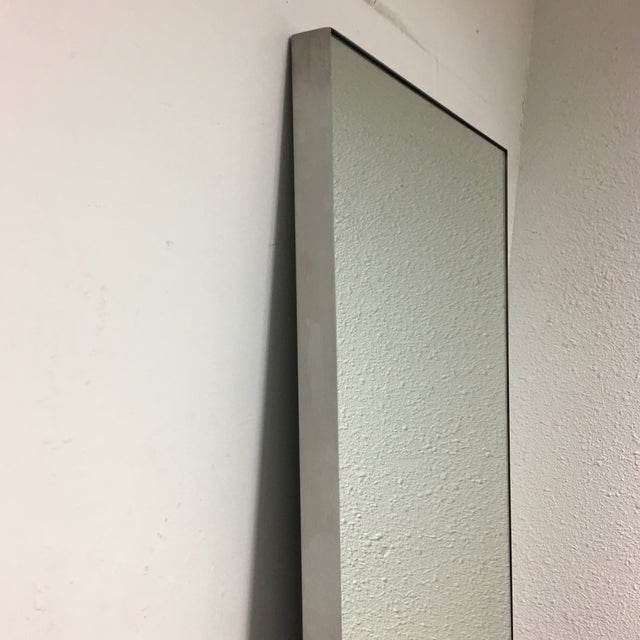 Room Board Stainless Steel Frame Infinity Mirror Chairish