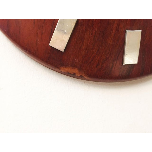 Mid-Century Wall Clock by LM Ericsson, 1962 For Sale - Image 5 of 6