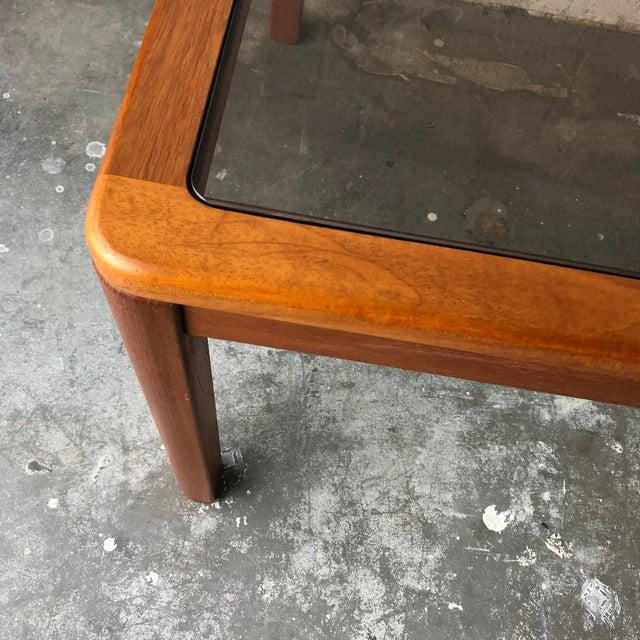 Wood Vintage Mid Century Danish Modern End Table by Uldum Mobelfabrik. For Sale - Image 7 of 13