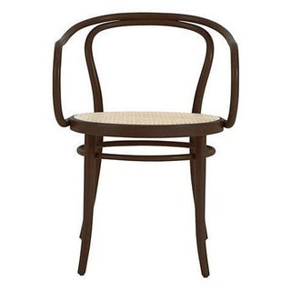 DWR Era Round Armchair with Caned Seat - Set of 6