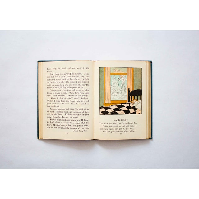 1920s Kansas School Book in Blue For Sale In Dallas - Image 6 of 9