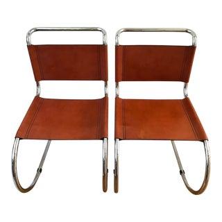 Fasem Italian Leather Chairs