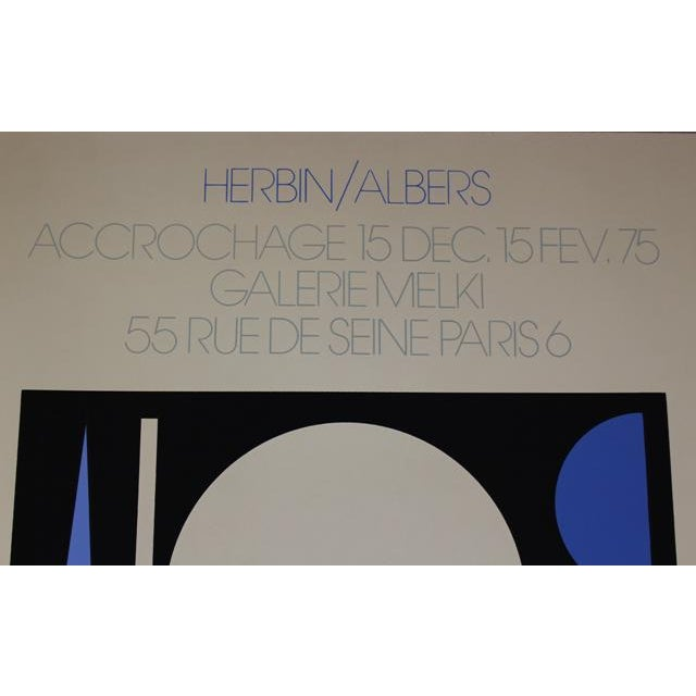 Albers French Exhibition Poster - Image 3 of 4