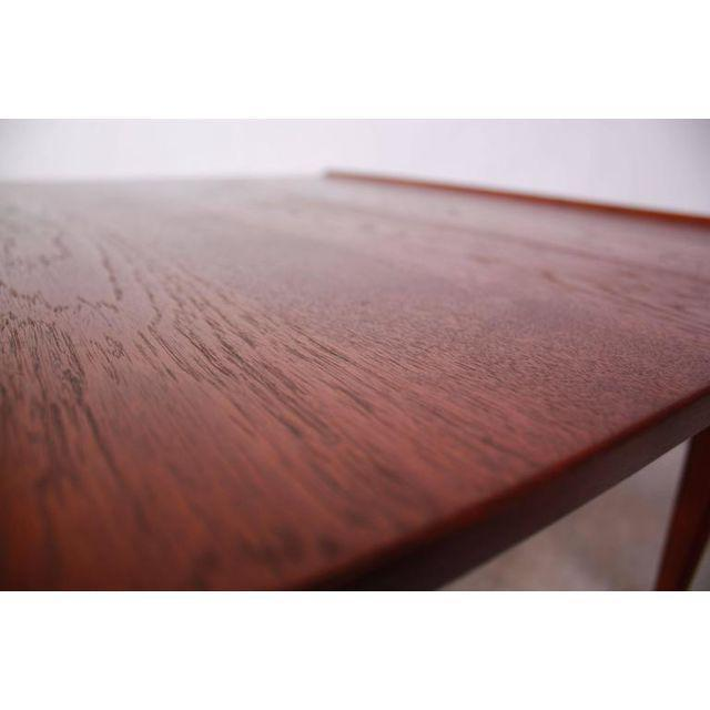 Wood Early Finn Juhl for France and Daverkosen Teak Coffee Table For Sale - Image 7 of 11