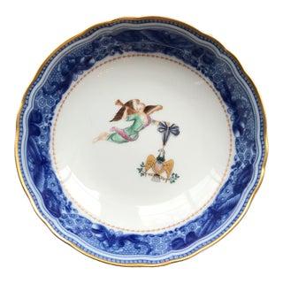 Vintage Mottahedeh Porcelain Dish For Sale