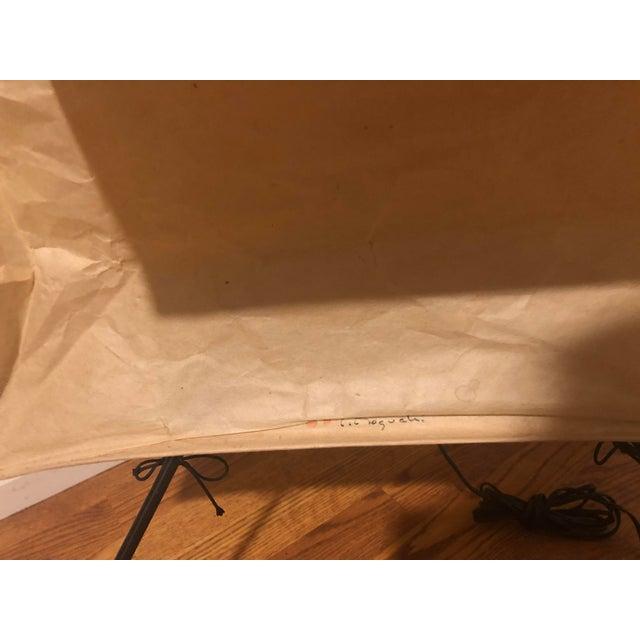 Mid-Century Modern Mid Century Vintage Ozeki and Company Limited Isamu Noguchi Model 36nN Floor Lamp For Sale - Image 3 of 8