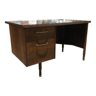 Mid Century Modern Walnut Desk
