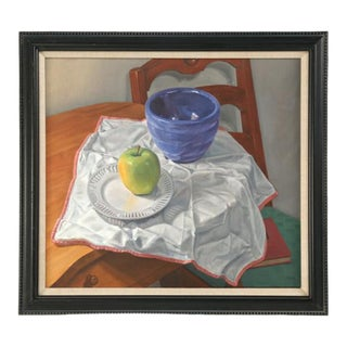 Chicago Original Still Life Oil Painting For Sale