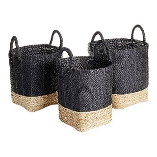 Madura Market Baskets from Kenneth Ludwig Chicago - Set of 3 For Sale