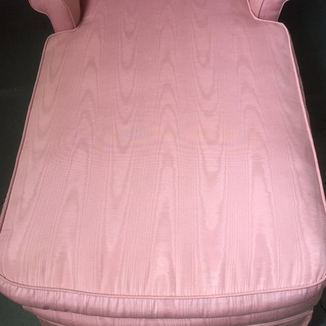Vintage Pink Chaise Lounge - Image 5 of 11