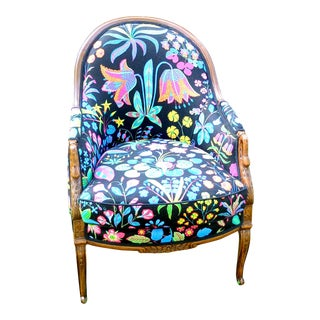 Antique Josef Frank Swedish Swan Chair