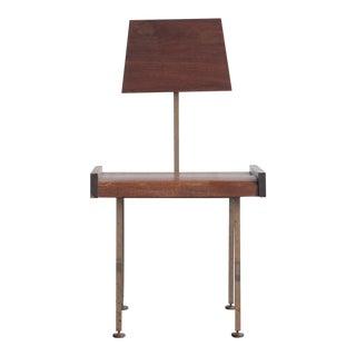 Mid-Century Minimalist Industrial Side Chair