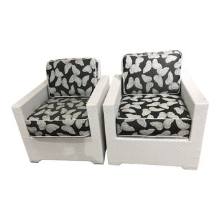 Frontgate Palermo Lounge Chairs- a Pair For Sale