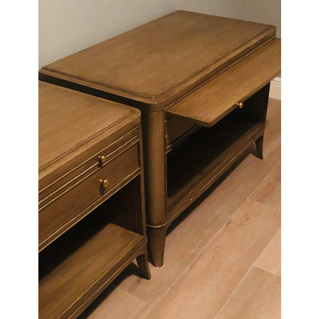 Brown Barbara Barry for Baker Furniture Nightstands-a Pair For Sale - Image 8 of 12