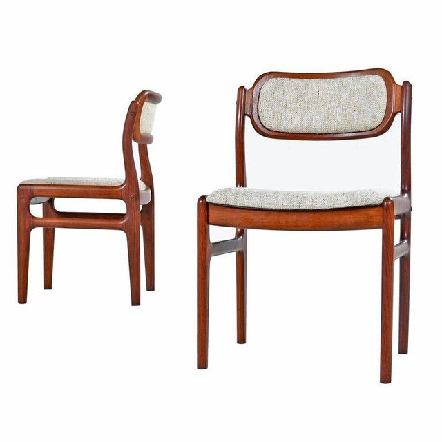 Niels Moller Danish Modern Rosewood Dining Chairs - Set of 4 For Sale - Image 4 of 7