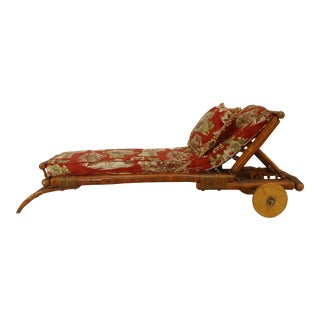 1920s Old Hickory American Rustic Chaise For Sale