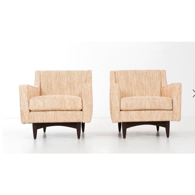 Pair of Woven Lounge Chairs For Sale - Image 13 of 14