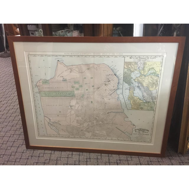 1891 Rand McNally & Co Map of San Francisco For Sale In San Francisco - Image 6 of 6