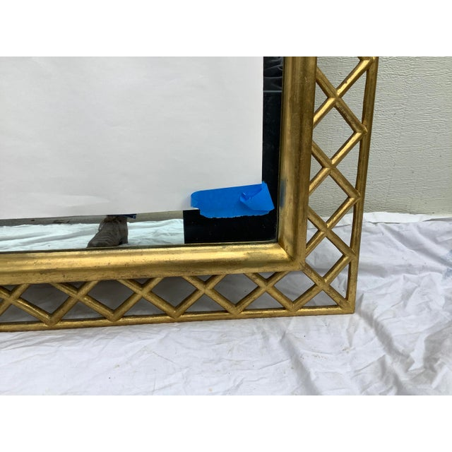 Traditional Regency Style Gilt Wood Mirror For Sale - Image 3 of 10