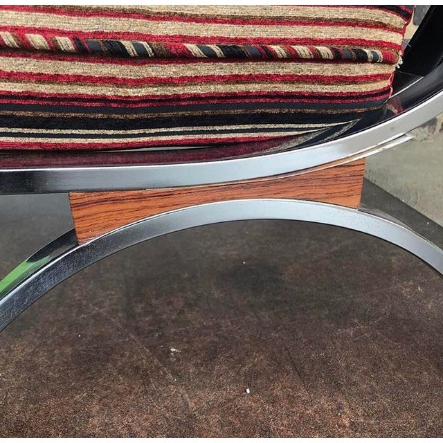 Mid Century Modern Selig Chairs- a Pair For Sale In Cleveland - Image 6 of 7