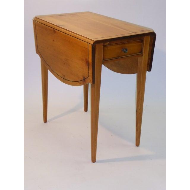 Georgian 1940s Georgian Pine Pembroke Table For Sale - Image 3 of 12