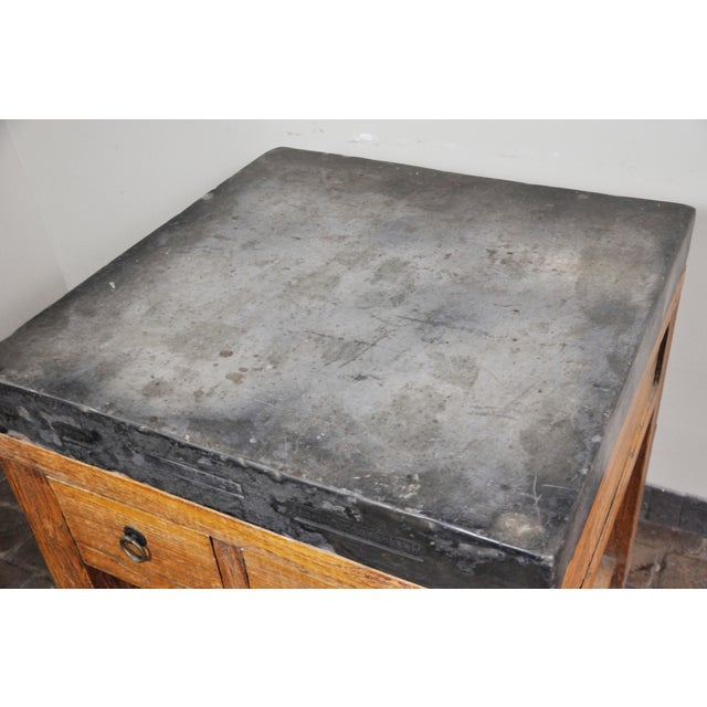 17th Century Chinese Stone Top Incense Table From the Qing Dynasty For Sale - Image 12 of 13