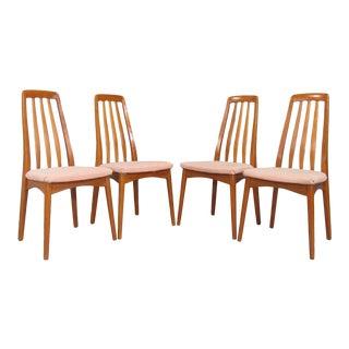 Scandinavian Teak Dining Chairs by Svegards Markaryd - Set of 4 For Sale