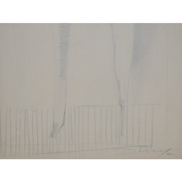 Figurative Jan Stussy (1921–1990) Original Nude Study C.1950 For Sale - Image 3 of 5