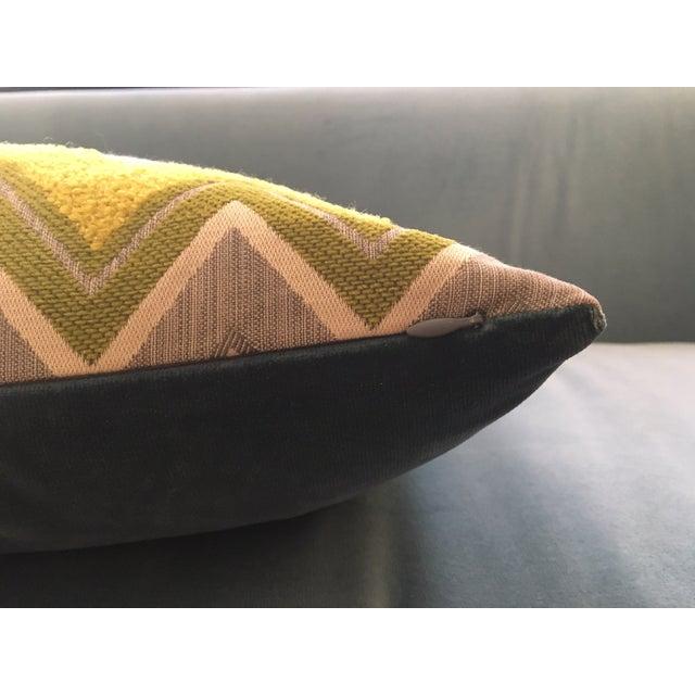 Custom Schumacher Zenyatta Lumbar Pillow - Image 5 of 7