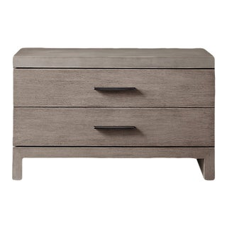 Meade Closed Nightstand With Concrete Top For Sale