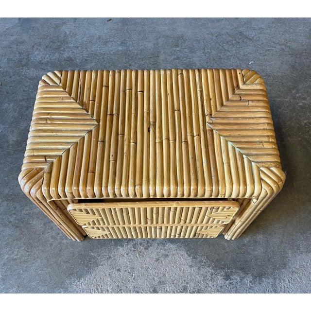 Rattan Nightstand For Sale In New York - Image 6 of 12