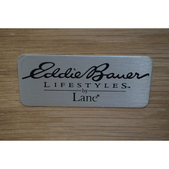 Brown Eddie Bauer for Lane Traditional Tall Chest For Sale - Image 8 of 10
