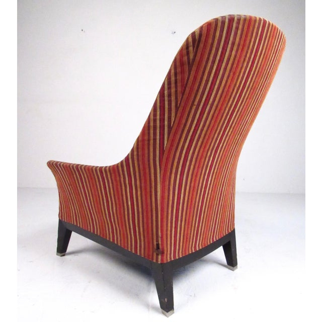 Giorgetti Pair Massimo Scolari Lounge Chairs by Giorgetti For Sale - Image 4 of 13