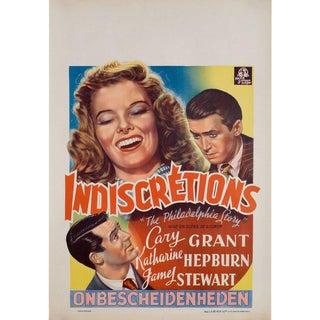 The Philadelphia Story 1947 Belgian Film Poster For Sale