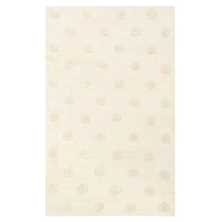 Pottery Barn Teen Textured Dot Rug - 5′ × 8′ For Sale