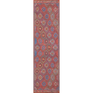 Turkish Momeni Afshar Runner Rug - 2′3″ × 7′6″ For Sale