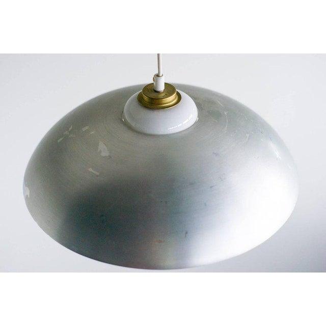 Nordiska Kompaniet Counterbalance Pendant Lamp by Nordiska Kompaniet, (Nk), Sweden, 1950s For Sale - Image 4 of 6