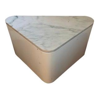 Paul Mayen for Habitat Marble Triangular Table For Sale