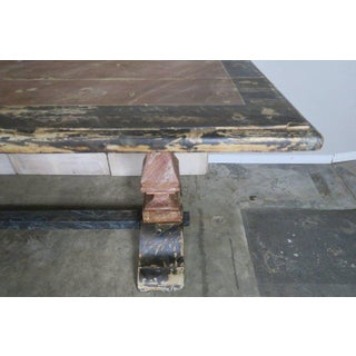19th C. Italian Painted Trestle Table Preview