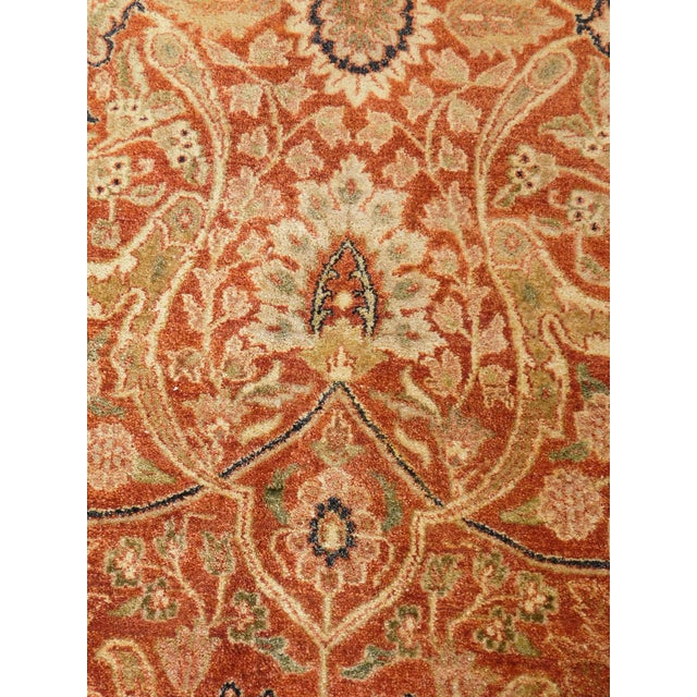 Handmade Indian Rug - 8' x 10' For Sale - Image 10 of 10