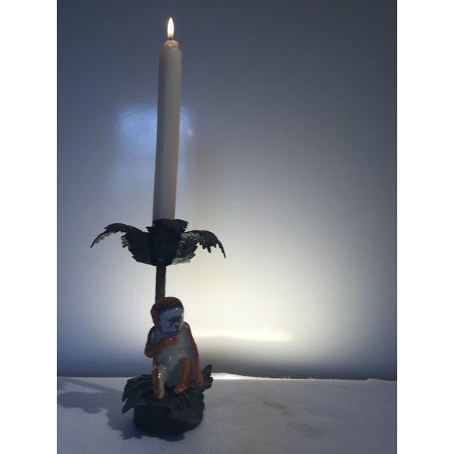 Palm Monkey Candle Holder - Image 2 of 3