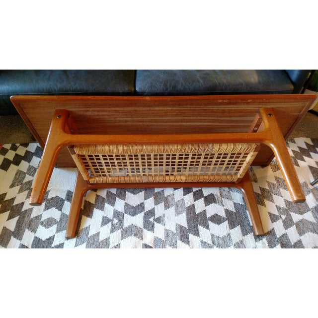 Danish 1960s Solid Teak Coffee Table by Trioh - Image 4 of 7