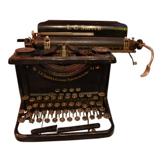 Lc Smith & Corona Typewriter For Sale