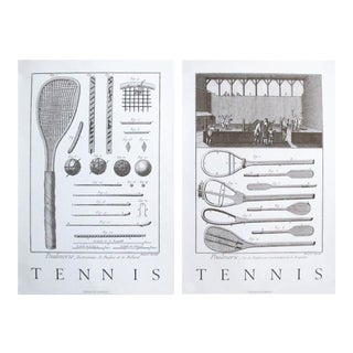 1986 British Tennis Posters - A Pair For Sale