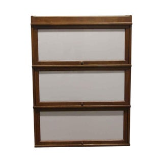 Antique 4 Foot Barrister Bookcase For Sale