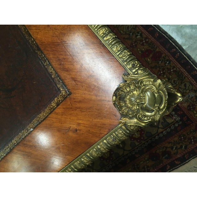 French Louis XV Style Sèvres Mounted Bureau Plat, 19th Century For Sale - Image 3 of 13