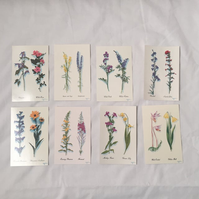 Vintage Deadstock from Harrison R Crandall's promotional items for Grand Teton National Park in the 1960's. each postcard...