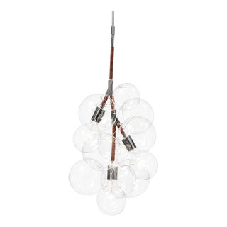 Pelle Pendant Bubble Chandelier For Sale