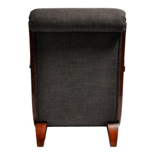 Hungarian Art Deco Solid Walnut Chair Preview
