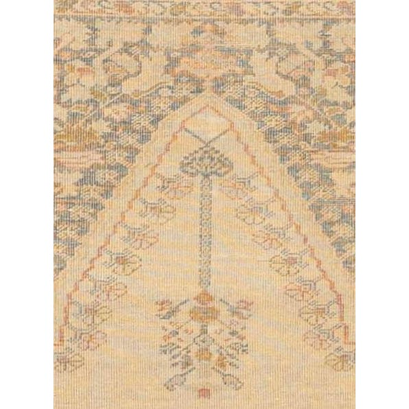 """Antique Turkish Kaisary Rug - 4'6"""" x 6' For Sale - Image 4 of 5"""